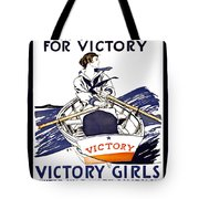 Victory Girls Of W W 1     1918 Tote Bag by Daniel Hagerman