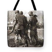 Vietnam Veterans Memorial - Washington Dc Tote Bag by Mike McGlothlen