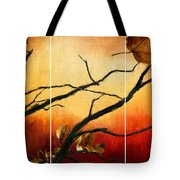 View Of Autumn Tote Bag by Lourry Legarde