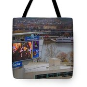 View Of Cincinnati Tote Bag by Dan Sproul
