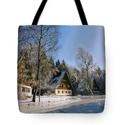 Village Tote Bag by Aged Pixel