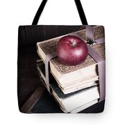 Vintage Back To School Tote Bag by Edward Fielding