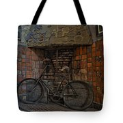 Vintage Bicycle Tote Bag by Susan Candelario
