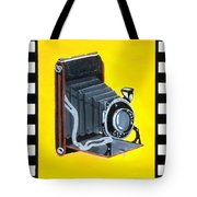 Vintage Camera Tote Bag by Karyn Robinson