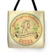 Vintage Cheese Label 2 Tote Bag by Debbie DeWitt
