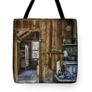 Vintage Cracker Kitchen Tote Bag by Lynn Palmer