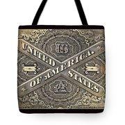 Vintage Currency Tote Bag by Chris Berry