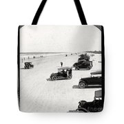 Vintage Daytona Beach Florida Tote Bag by Edward Fielding