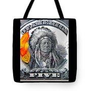 Vintage Five Spot Tote Bag by Chris Berry