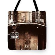Vintage French Quarter Tote Bag by John Rizzuto