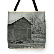 Vintage Frosty Morning 1 Tote Bag by Chalet Roome-Rigdon