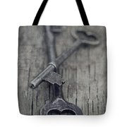 Vintage Keys Tote Bag by Priska Wettstein