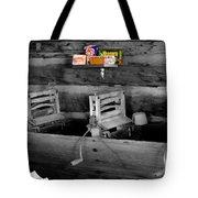 Vintage Laundry Tote Bag by Deniece Platt