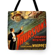 Vintage Nostalgic Poster - 8034 Tote Bag by Wingsdomain Art and Photography