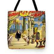 Vintage Nostalgic Poster - 8038 Tote Bag by Wingsdomain Art and Photography