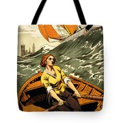 Vintage Nostalgic Poster - 8045 Tote Bag by Wingsdomain Art and Photography