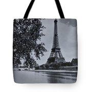 Vintage Paris Tote Bag by Georgia Fowler