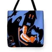 Vintage Poster - Reading - October Tote Bag by Benjamin Yeager