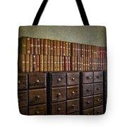 Vintage Storage Tote Bag by Susan Candelario