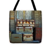 Vintage Trunks   Sold Tote Bag by Marcia Lee Jones