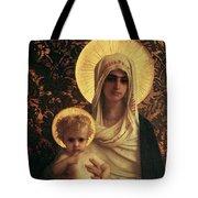 Virgin and Child Tote Bag by Antoine Auguste Ernest Herbert