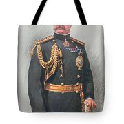 Viscount Kitchener Of Khartoum Tote Bag by Walter Wallor Caffyn