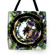 Visions Echo In The Crystal Ball Tote Bag by Elizabeth McTaggart