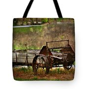 Wagon Tote Bag by Marty Koch