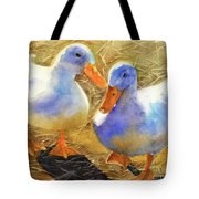Wait For Me Tote Bag by Bonnie Rinier