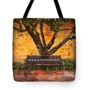 Waiting For You Tote Bag by Debra and Dave Vanderlaan
