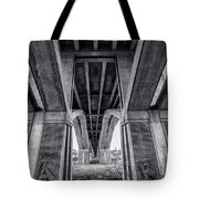 Walk In My Shoes Follow My Footsteps Tote Bag by CJ Schmit