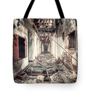 Walk Of Death - Abandoned Asylum Tote Bag by Gary Heller