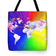Walk The World Tote Bag by Daniel Janda