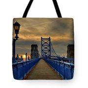 Walk With Me Tote Bag by Evelina Kremsdorf