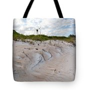 Walking In The Sand Tote Bag by Michelle Wiarda