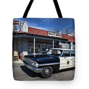 Wallys Service Station Tote Bag by David Arment
