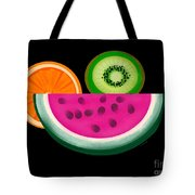 Want A Slice? Tote Bag by Christine Fournier