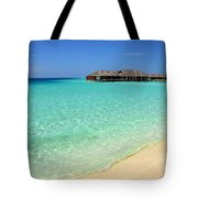 Warm Welcoming. Maldives Tote Bag by Jenny Rainbow