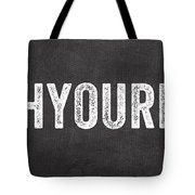 Wash Your Hands Tote Bag by Linda Woods
