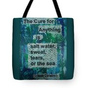 Water Cure - 1 Tote Bag by Gillian Pearce