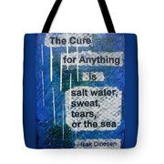 Water Cure - 2 Tote Bag by Gillian Pearce