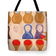Water Into Wine Tote Bag by Patrick J Murphy