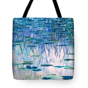 Water Lilies Tote Bag by Chris Anderson