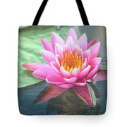 Water Lily Tote Bag by Sandi OReilly