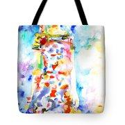 Watercolor Woman.18 Tote Bag by Fabrizio Cassetta