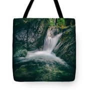 waterfall Tote Bag by Stylianos Kleanthous