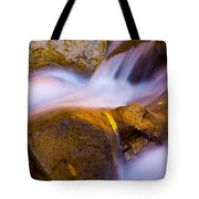 Waters Of Zion Tote Bag by Adam Romanowicz