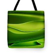 Wave Art V Tote Bag by Ludek Sagi Lukac