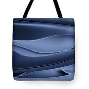 Wave art VI Tote Bag by Ludek Sagi Lukac