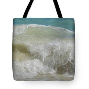 Waves Tote Bag by Cheryl Young